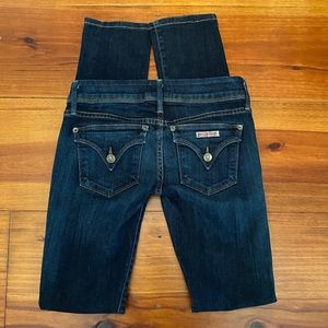 Hudson 'Beth Baby Boot' Skinny Jeans Sz 24 EUC